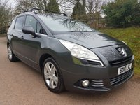 2010 PEUGEOT 5008 2.0 HDI EXCLUSIVE 5d 150 BHP £4795.00