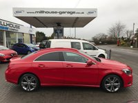 USED 2013 63 MERCEDES-BENZ CLA 1.6 CLA180 SPORT 4d Low Mileage Full Service History Red  MERCEDES-BENZ CLA 1.6 CLA180 SPORT 4d Low Mileage Full Service History Red 12 Months FREE AA Breakdown Cover