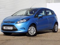 USED 2010 60 FORD FIESTA 1.6 ECONETIC TDCI 5d 94 BHP FULL SERVICE HISTORY