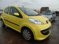 2008 PEUGEOT 107 1.0 URBAN 5d LONG MOT CLEAN £1395.00