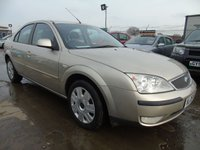 2005 FORD MONDEO 1.8 ZETEC 14 STAMPS TONS OF SERVICE HISTORY £995.00