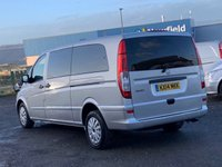 USED 2014 14 MERCEDES-BENZ VITO 2.1 113 CDI TRAVELINER AUTO XLWB EXTRA LONG BLUEEFFICIENCY RARE XLWB, AUTOMATIC, AC, 9 SEATER, CRUISE CONTROL