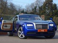 USED 2013 13 ROLLS-ROYCE WRAITH 6.6 V12 2d AUTO 624 BHP