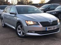 2016 SKODA SUPERB 1.6 SE BUSINESS TDI 5dr 120 BHP £9400.00