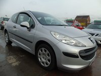 2007 PEUGEOT 207 1.4 URBAN LOW MILES DRIVES VERY WELL FSH £1695.00