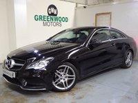 2013 MERCEDES-BENZ E CLASS 2.1 E250 CDI AMG Sport 7G-Tronic Plus 2dr £12990.00
