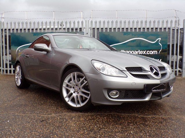 2008 58 MERCEDES-BENZ SLK 1.8 SLK200 KOMPRESSOR 2d AUTO 184 BHP LEATHER SAT NAV AIR SCARF