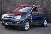 USED 2013 62 VAUXHALL ANTARA 2.2 EXCLUSIV CDTI 4WD 5d AUTO 161 BHP Huge Spec