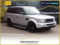 USED 2007 07 LAND ROVER RANGE ROVER SPORT 2007 LAND ROVER ONLY 68,000 MILES FULL SERVICE HISTORY No Deposit Finance & Part Ex Available