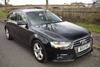 USED 2013 13 AUDI A4 2.0 AVANT TDIE SE TECHNIK 5d ESTATE 161 BHP SERVICE HISTORY, SPORTS LEATHER, REAR PRIVACY GLASS,  BLUETOOTH, CRUISE CONTROL, 6 SPEED MANUAL