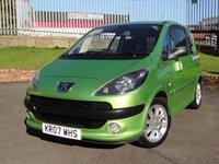 2007 PEUGEOT 1007 1.6 SPORT 16V 2-TRONIC 3d AUTO 108 BHP £1995.00