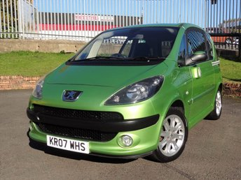View our PEUGEOT 1007