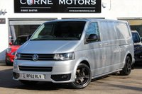 2013 VOLKSWAGEN TRANSPORTER T5 SPORTLINE 2.0 BiTDI 180PS 7 SPEED DSG LWB PANEL VAN £17490.00