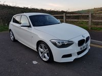 2014 BMW 1 SERIES 2.0 120D M SPORT 5d AUTO 181 BHP £12490.00