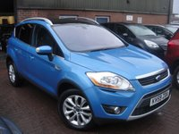 USED 2009 59 FORD KUGA 2.0 TITANIUM TDCI AWD 5d 134 BHP ANY PART EXCHANGE WELCOME, COUNTRY WIDE DELIVERY ARRANGED, HUGE SPEC