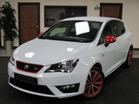 2016 SEAT IBIZA 1.2 TSI FR RED EDITION 5d 109 BHP £9750.00