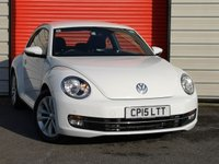 USED 2015 15 VOLKSWAGEN BEETLE 1.2 DESIGN TSI BLUEMOTION TECHNOLOGY 3d 104 BHP