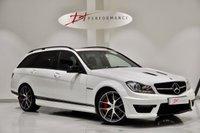 2013 MERCEDES-BENZ C CLASS 6.2 C63 AMG EDITION 507 5d AUTO 507 BHP RARE ESTATE £37950.00