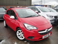 USED 2015 15 VAUXHALL CORSA 1.2 STING 3d 69 BHP ANY PART EXCHANGE WELCOME, COUNTRY WIDE DELIVERY ARRANGED, HUGE SPEC