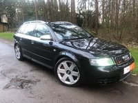 USED 2003 53 AUDI S4 AVANT 4.2 S4 AVANT QUATTRO 5d AUTO 339 BHP LOTS OF SERVICE HISTORY - TWO KEYS - SUNROOF - 18' WHEELS - ELECTRIC FRONT SEATS WIT LUMBAR - NO WARRANTY - CHEAPEST IN THE UK!