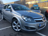 USED 2007 07 VAUXHALL ASTRA 1.9 SRI CDTI 5d 150 BHP Lowered sports suspension