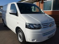 USED 2013 13 VOLKSWAGEN TRANSPORTER 2.0 T28 TDI BLUEMOTION TECHNOLOGY, 84 BHP [EURO 5]