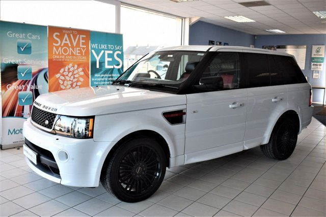 2012 62 LAND ROVER RANGE ROVER SPORT 3.0 SDV6 HSE RED EDITION 5d AUTO 255 BHP COMMAND SHIFT