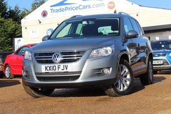 2010 VOLKSWAGEN TIGUAN 2.0 SE TDI 5d 138 BHP £6750.00
