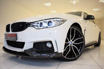 2014 BMW 4 SERIES 430D M SPORT AUTOMATIC £19995.00
