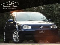USED 2001 51 VOLKSWAGEN GOLF 1.8 GTI TURBO ONLY 34K FROM NEW FSH A/C VGC