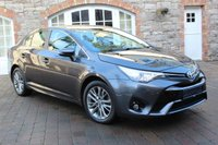 USED 2016 TOYOTA AVENSIS 1.6 D-4D BUSINESS EDITION 4d 110 BHP REVERSE CAMERA - SAT NAV
