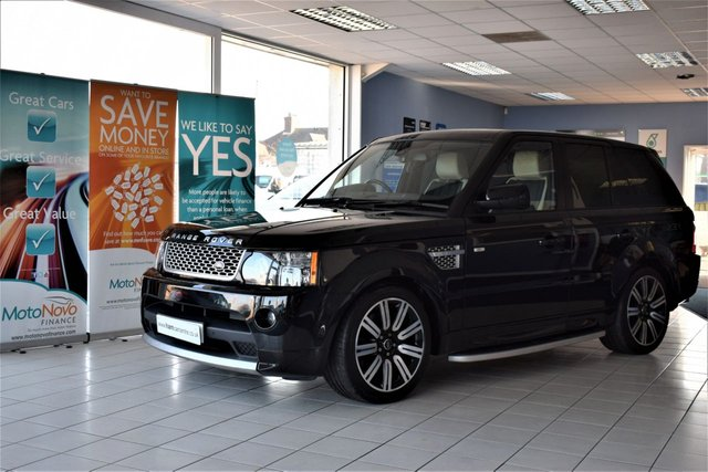 2013 13 LAND ROVER RANGE ROVER SPORT 3.0 SDV6 AUTOBIOGRAPHY SPORT 5d AUTO 255 BHP COMMAND SHIFT