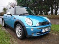 2005 MINI HATCH ONE 1.6 ONE 3d 89 BHP [SOUTHWICK SITE] £2995.00