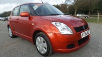 USED 2007 56 SUZUKI SWIFT 1.3 GL 5d 91 BHP CD-PLAYER, REMOTE LOCKING,  12 MONTHS MOT, ELECTRIC WINDOWS, METALLIC PAINT, CLEAN EXAMPLE, ECONOMICAL, SAME DAY FINANCE
