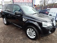 USED 2012 62 LAND ROVER FREELANDER 2.2 TD4 XS 5d 150 BHP BLACK HEATED LEATHER, COLOUR SCREEN SATELLITE NAVIGATION