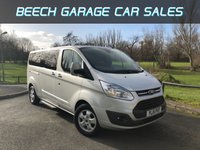 2015 FORD TOURNEO CUSTOM 2.2 300 LIMITED TDCI 5d 124 BHP £15000.00