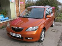 USED 2003 53 MAZDA 2 1.4 TS2 5d AUTO 80 BHP AUTOMATIC VERY LOW MILEAGE FINANCE ME TODAY-UK DELIVERY POSSIBLE