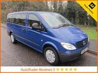USED 2008 08 MERCEDES-BENZ VITO 2.1 111 CDI LONG TRAVELINER SWB 1d 109 BHP Very Nice Long Wheelbase Mercedes Vito Minibus with Eight Seats, Air Conditioning and Service History