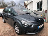USED 2014 64 CITROEN C4 GRAND PICASSO 1.6 E-HDI AIRDREAM VTR PLUS ETG6 5d AUTO 91 BHP