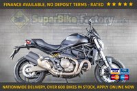 USED 2015 15 DUCATI MONSTER M821 DARK  GOOD & BAD CREDIT ACCEPTED, OVER 600+ BIKES IN STOCK
