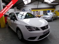 USED 2015 65 SEAT IBIZA 1.4 TDI S 5d 74 BHP FULL SIZE SPARE WHEEL BLUE TOOTH TWO KEYS AIR CONDITIONING FLOOR MATS MOT 02.12.2019  SERVICE HISTORY