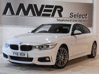 USED 2016 16 BMW 4 SERIES 2.0 420D M SPORT 2d 188 BHP