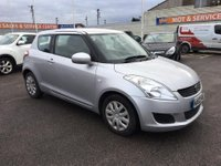 USED 2012 62 SUZUKI SWIFT 1.2 SZ2 3d 94 BHP GOT A POOR CREDIT HISTORY * DON'T WORRY * WE CAN HELP * APPLY NOW *