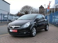 USED 2007 07 VAUXHALL CORSA 1.4 SXI A/C 16V 3d  ALLOYS ~ AIR CONDITIONING ~ FULL SERVICE HISTORY ~ FRONT FOG LIGHTS