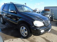2004 MERCEDES-BENZ M CLASS 3.7 ML350 AUTOMATIC FSH DRIVES WELL £2195.00