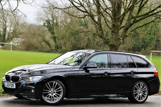 2013 M BMW 3 SERIES 2.0 320D M SPORT TOURING 5d AUTO 181 BHP
