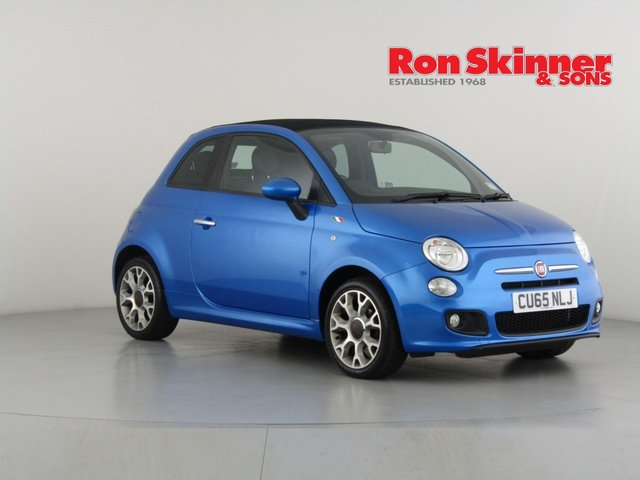 View our 2015 65 FIAT 500 1.2 C S 3d 69 BHP