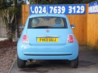 USED 2013 13 FIAT 500 1.2 COLOUR THERAPY 3d 69 BHP FSH X 4 STAMPS, AIR CON