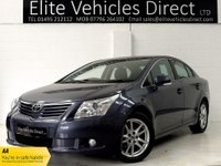 2011 TOYOTA AVENSIS 1.8 VALVEMATIC TR 4d 145 BHP £5991.00