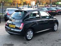 USED 2008 57 NISSAN MICRA 1.4 ACENTA 5d AUTO 88 BHP 1 OWNER FROM NEW, FSH, AUTO